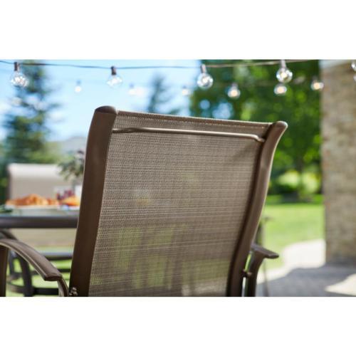Sunbrella Dining Outdoor Chair Oversized Patio Furniture