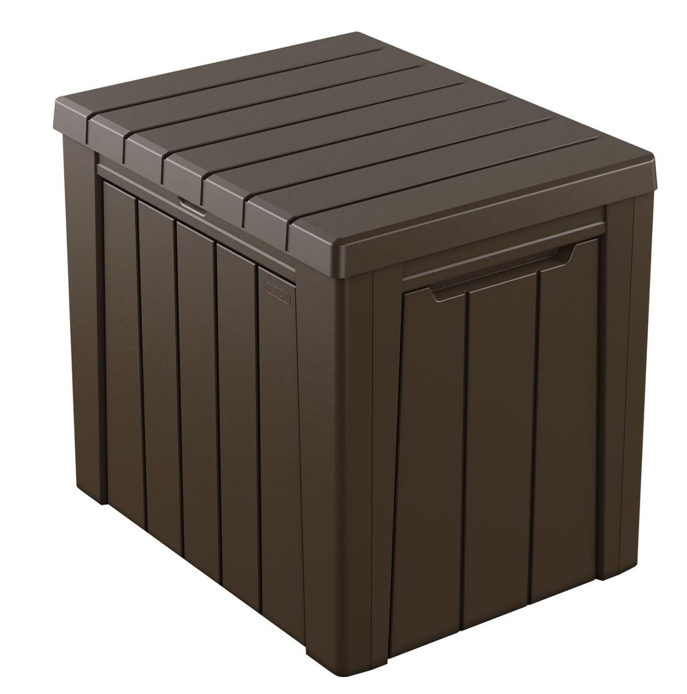 urban 30 gallon outdoor deck box storage