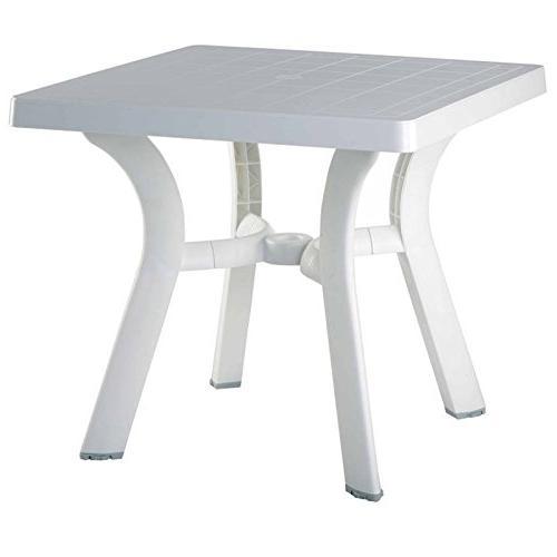 viva resin square dining table