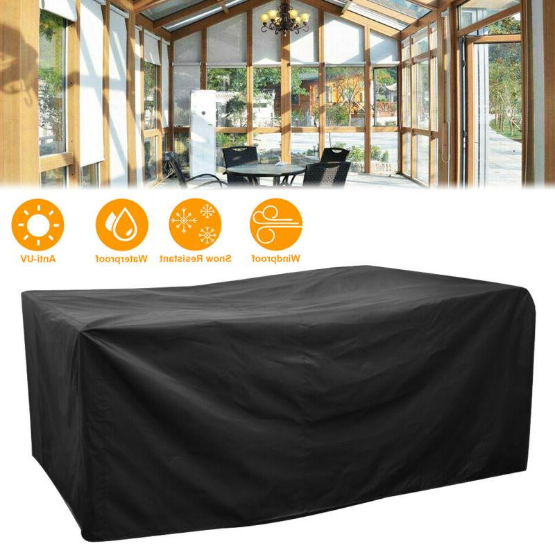 Waterproof Patio Furniture Covers Rectangle Cover