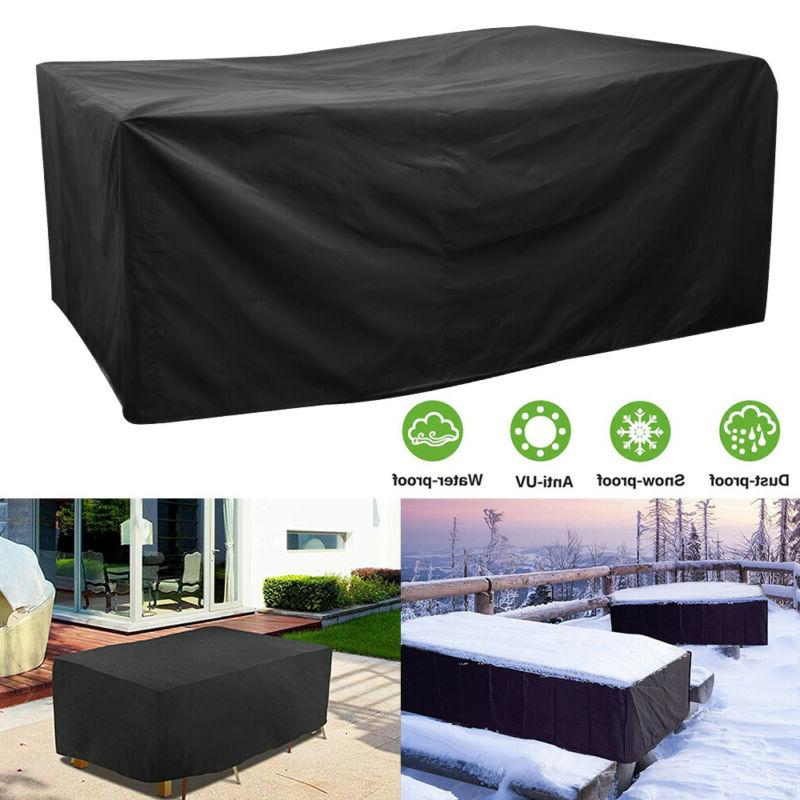 waterproof dustproof patio furniture covers rectangle table
