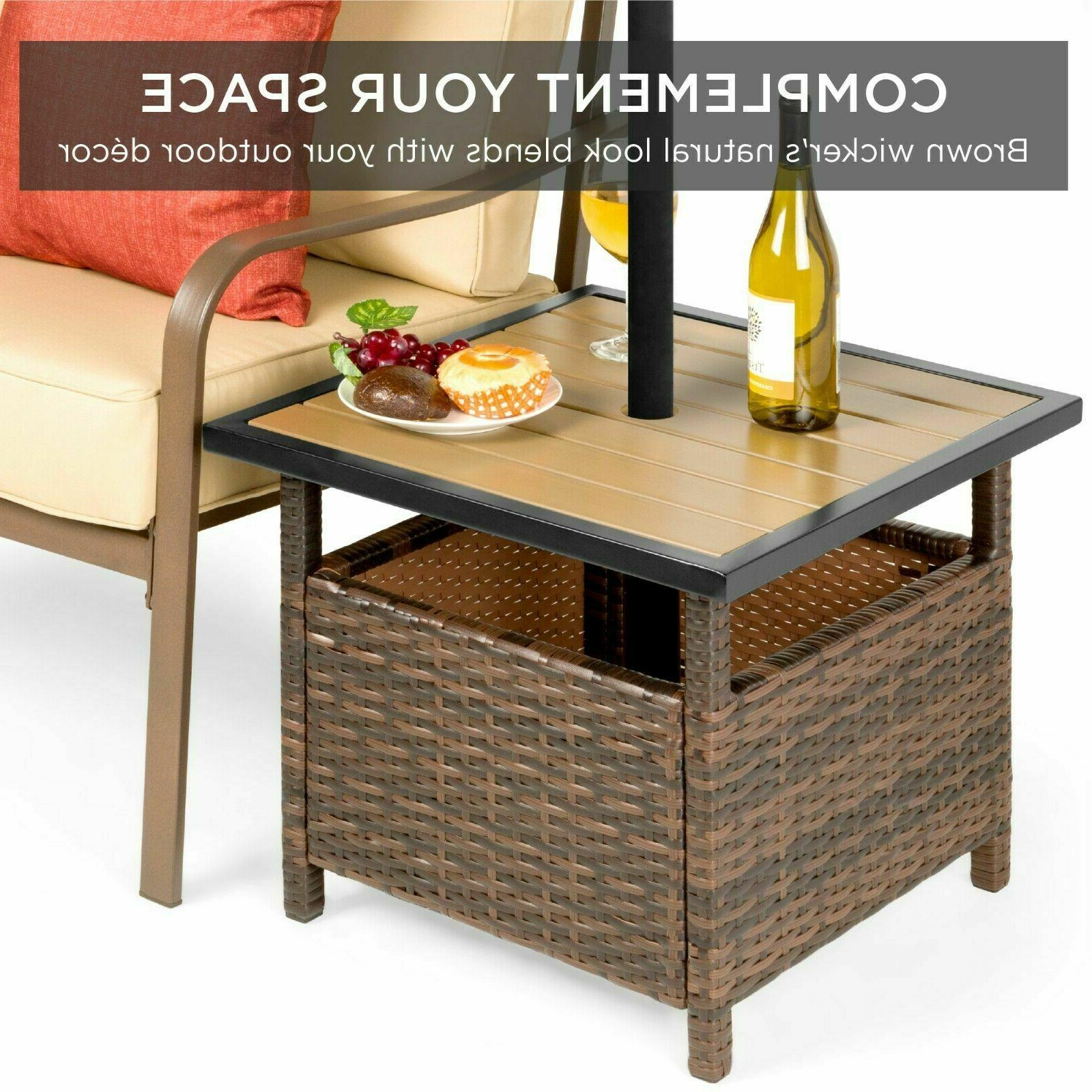 Best Products Wicker Rattan Patio Outdoor
