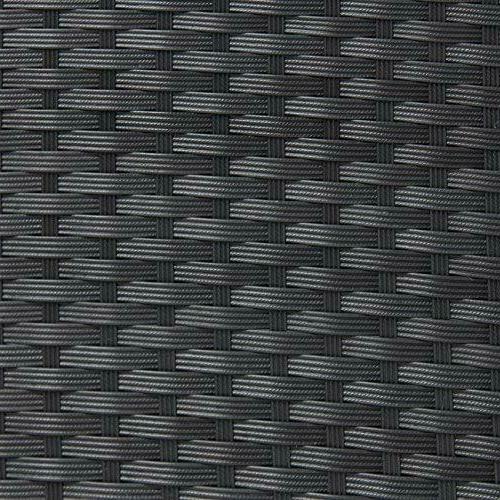 Wicker Pieces Furniture 3 Black
