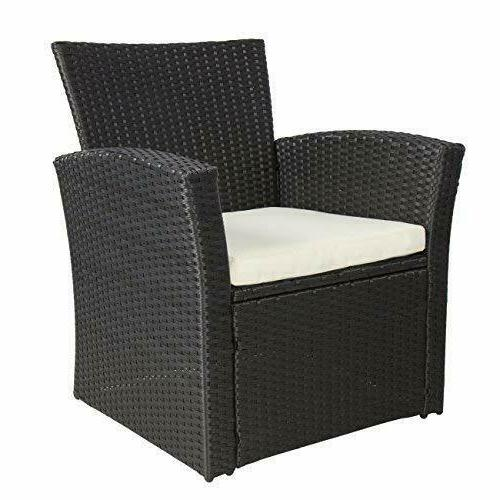 Wicker 4 Pieces Outdoor Furniture Cushions