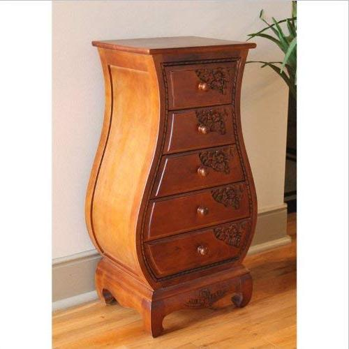 windsor 5 drawer bombay accent