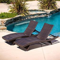 Christopher Knight Home 294919 Lakeport Outdoor Adjustable C