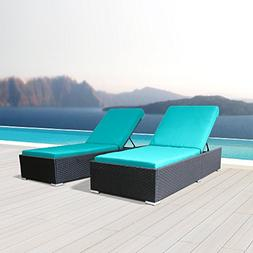 Modenzi 2Pcs Lounger Outdoor Sectional Patio Furniture Espre