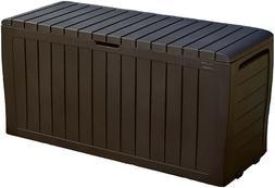Medium Storage 71 Gallon Resin Outdoor Storage Box for Pat