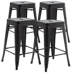 New Metal Chair Height Bar Stools 24 Inches Indoor/Outdoor S