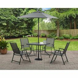 Modern Outdoor Patio Dining Furniture Folding Table Chairs S