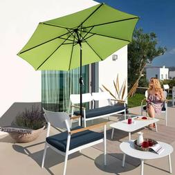 Outdoor Patio Umbrella Garden Pool Sun Shade Furniture Yard