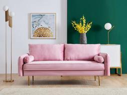 Outdoor Rattan Set Patio Furniture Garden Sofa W/Storage Tab