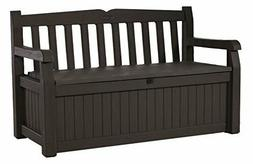 Outdoor Storage Bench Patio Box 70 Gallon Deck Garden Yard P