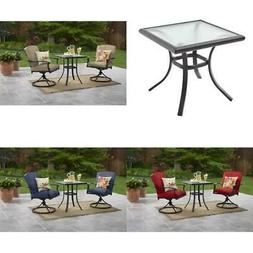 Outdoor Table Chairs Set 3 Bistro Garden Mainstays Belden Pa