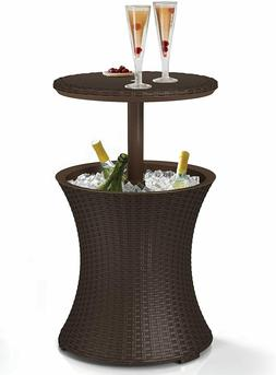 Keter Pacific Cool Bar Outdoor Patio Furniture and Hot Tub S