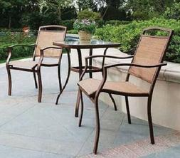 Patio Furniture Set Outdoor Bistro Sets Clearance 3 Piece 2