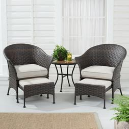 Patio Furniture Set Outdoor Conversation Sets For Porch Back