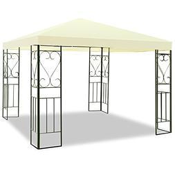 DUSTNIE Outdoor Patio Gazebo Canopy Tent - Garden Cabana Per