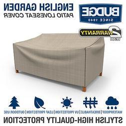 Patio Loveseat Cover, Waterproof Outdoor Garden Furniture Du