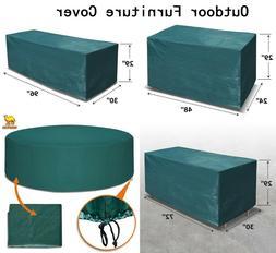 Patio Outdoor Garden Furniture Cover Winter Rectangle Table