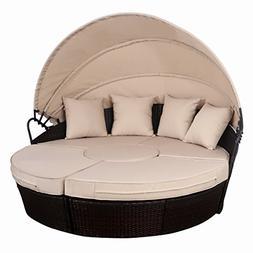 Tangkula Patio Furniture Outdoor Lawn Backyard Poolside Gard