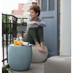 Outdoor Patio Set Dining Garden Balcony Furniture Wicker Mod