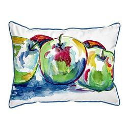 Betsy Drake Polyester Patio Furniture Pillows Three Apples L