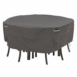 Classic Accessories Ravenna Round Patio Table & Chair Set Co