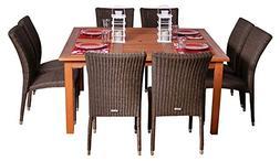 Amazonia 9-Pc Patio Dining Set