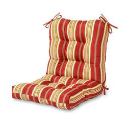 Greendale Home Fashions Roma Stripe Outdoor Seat/Back Combo