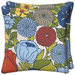 Ruthie Floral Square Outdoor Throw Pillow