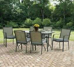 Set Of 6 Patio Dining Chairs Cushions Garden Bistro Outdoor