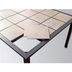 Mainstays Square Tile 7-Piece Patio Dining Set, Seats 6