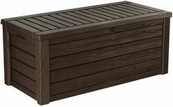 Storage Deck Box Outdoor Container Bin Chest Patio Keter 150