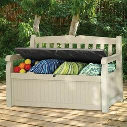 Storage Deck Box Outdoor Container Bin Chest Patio Keter 70