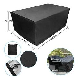 US Waterproof Garden Patio Furniture Covers Rectangle Table