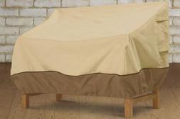 Classic Accessories Veranda Loveseat/ Bench Cover - Supports
