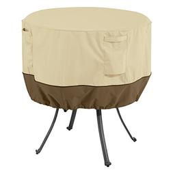 Classic Accessories Veranda Round Patio Table Cover - Durabl