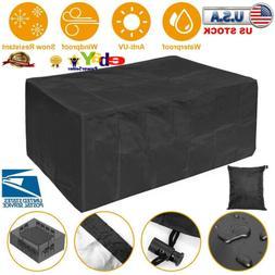 Waterproof Dustproof Patio Furniture Covers Rectangle Table