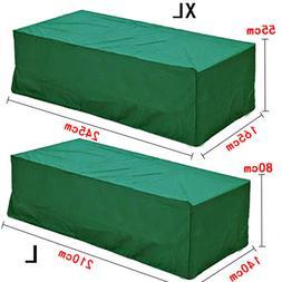 Green Outdoor Waterproof Patio Furniture Set Cover Table Ben