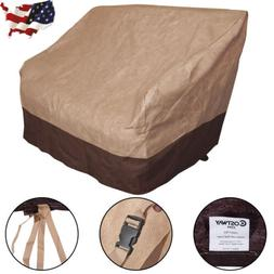 Waterproof Outdoor Patio Loveseat Wicker Chairs Cover Furnit